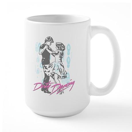 Dirty Dancing Dance Moves Large Mug