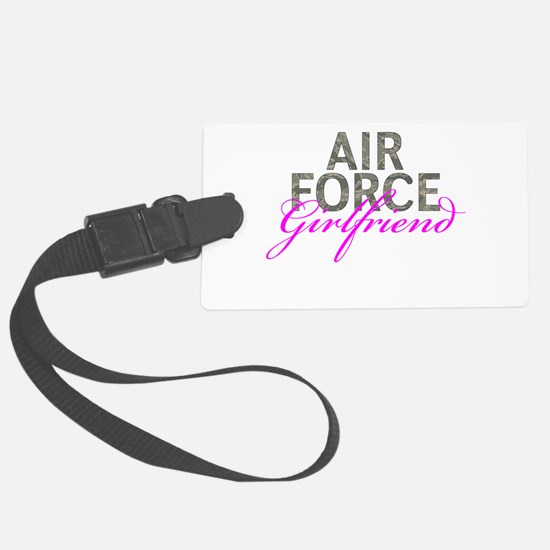 Air Force Girlfriend Luggage Tag