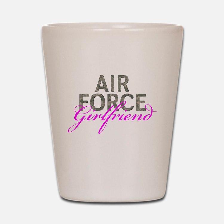 Air Force Girlfriend Shot Glass