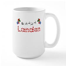 Landen, Christmas Mug