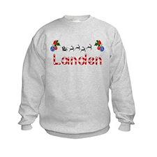 Landen, Christmas Sweatshirt