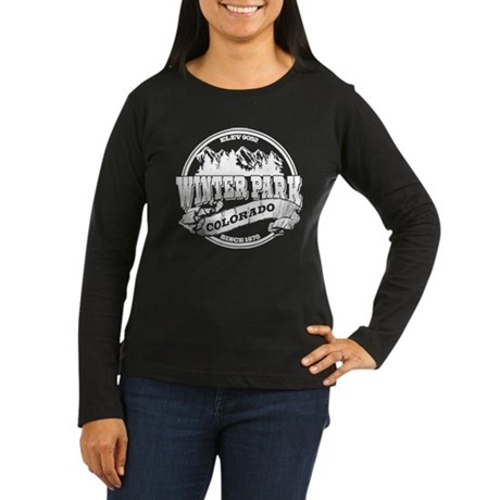 Winter Park Old Circle Women's Long Sleeve Dark T-