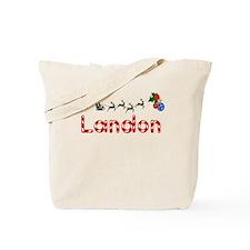 Landon, Christmas Tote Bag