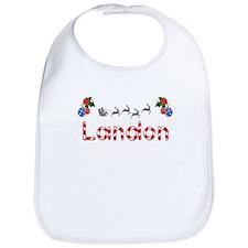 Landon, Christmas Bib