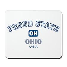 Proud State-Ohio: Mousepad