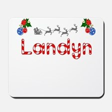 Landyn, Christmas Mousepad