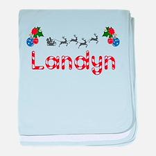 Landyn, Christmas baby blanket