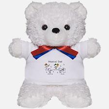 Musical Dad Teddy Bear