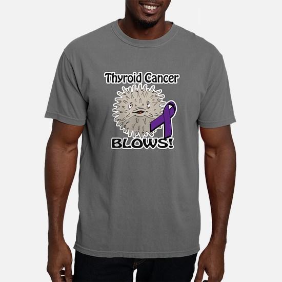 Thyroid Cancer Blows Awa Mens Comfort Colors Shirt