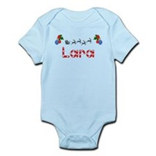 Lara, Christmas Infant Bodysuit