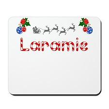 Laramie, Christmas Mousepad