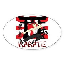 Karate Decal