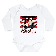 Karate Long Sleeve Infant Bodysuit