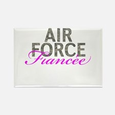 Air Force Fiancee Rectangle Magnet
