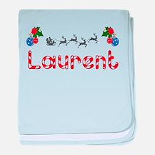 Laurent, Christmas baby blanket
