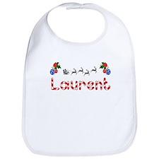 Laurent, Christmas Bib