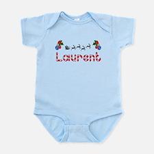 Laurent, Christmas Infant Bodysuit