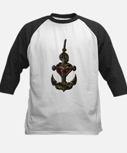 Red anchor Tee