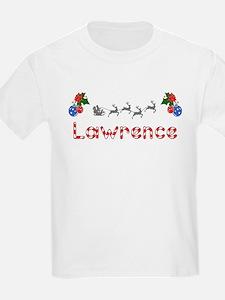 Lawrence, Christmas T-Shirt