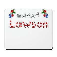 Lawson, Christmas Mousepad