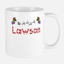 Lawson, Christmas Small Small Mug
