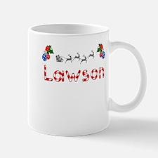 Lawson, Christmas Small Small Mug