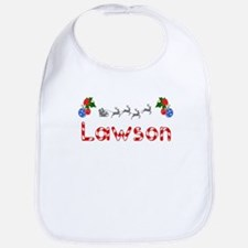 Lawson, Christmas Bib