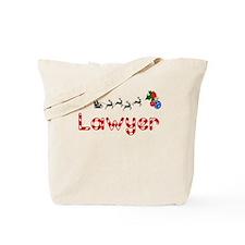 Lawyer, Christmas Tote Bag
