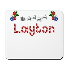 Layton, Christmas Mousepad