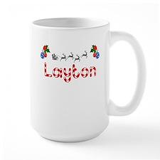 Layton, Christmas Mug
