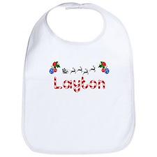 Layton, Christmas Bib