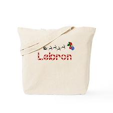 Lebron, Christmas Tote Bag