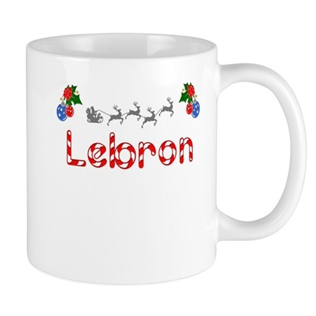 Lebron, Christmas Mug