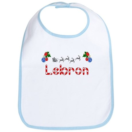 Lebron, Christmas Bib