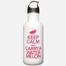 Keep Calm Carry a Watermelon Water Bottle