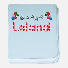 Leland, Christmas baby blanket
