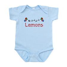 Lemons, Christmas Infant Bodysuit