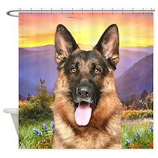 Shepherd Meadow Shower Curtain