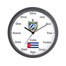 Cuban Wall Clock