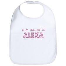 My name is Alexa Bib
