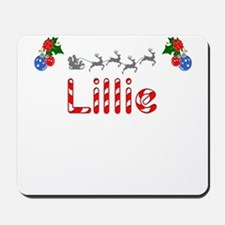 Lillie, Christmas Mousepad