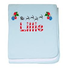 Lillie, Christmas baby blanket