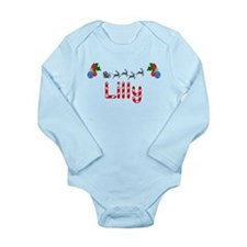 Lilly, Christmas Onesie Romper Suit