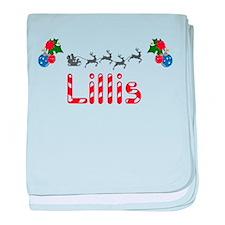 Lillis, Christmas baby blanket