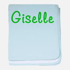Giselle Glitter Gel baby blanket