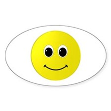 Cute Happy Face Decal