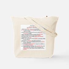 Nymphomaniacs Anonymous Tote Bag