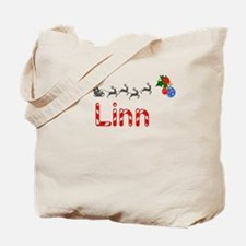 Linn, Christmas Tote Bag