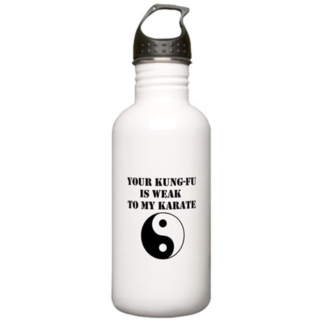 Kung-Fu Weak Stainless Water Bottle 1.0L