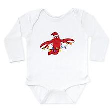 Sandy Claws Long Sleeve Infant Bodysuit